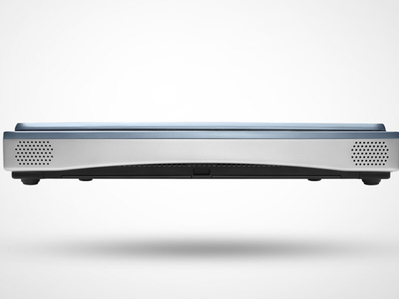 The Mindray M8 is extremely slim measuring only 59mm