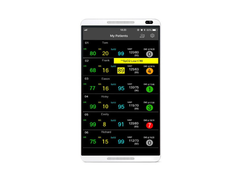 Mindray's Mobile Viewer app