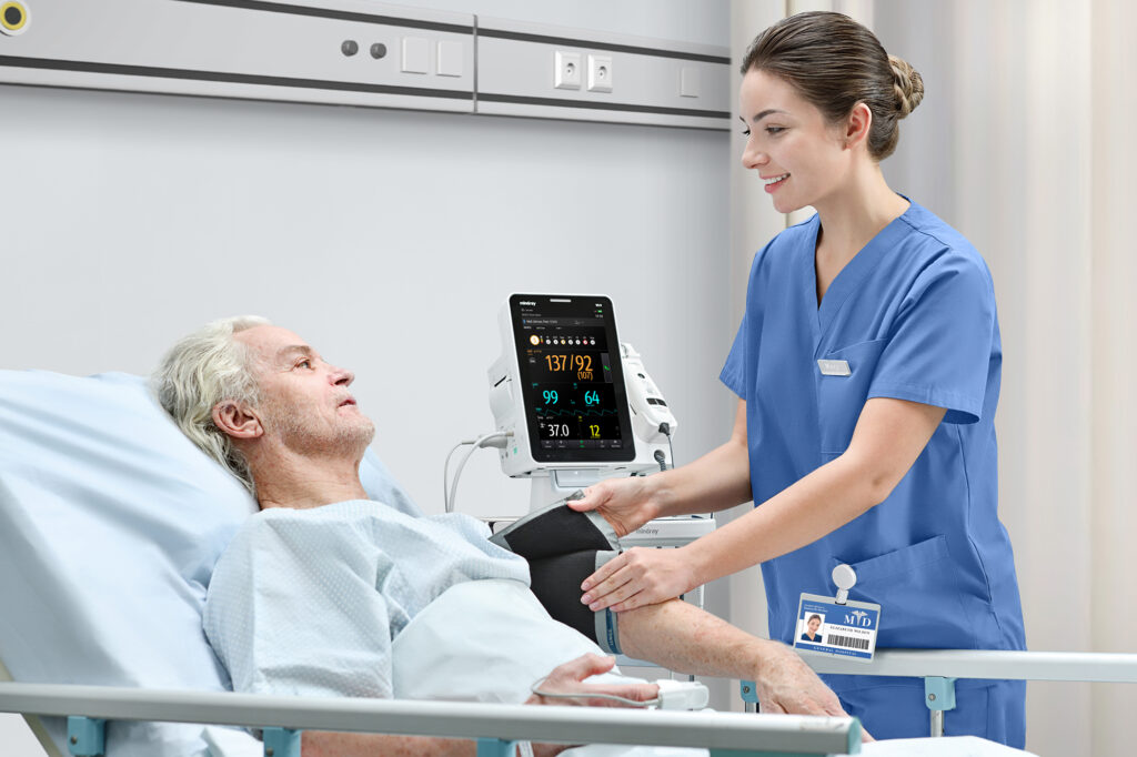 Mindray launches new vital signs workstation for modern ward rounds