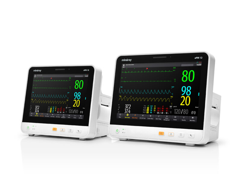 Mindray ePM Compact Patient Monitors